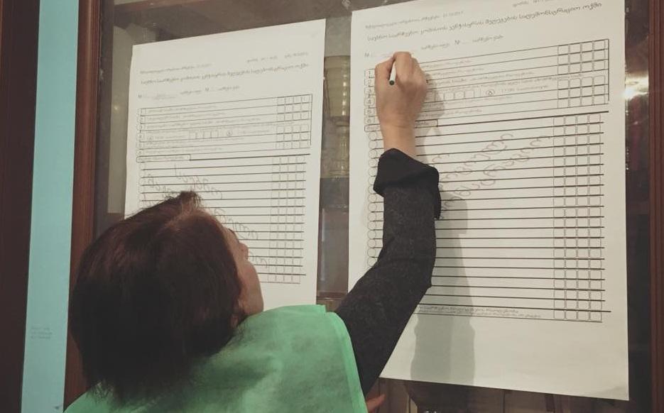 """""""სამართლიანი არჩევნების'' წარმომადგენლებმა 4 საჩივარი დაწერეს"""