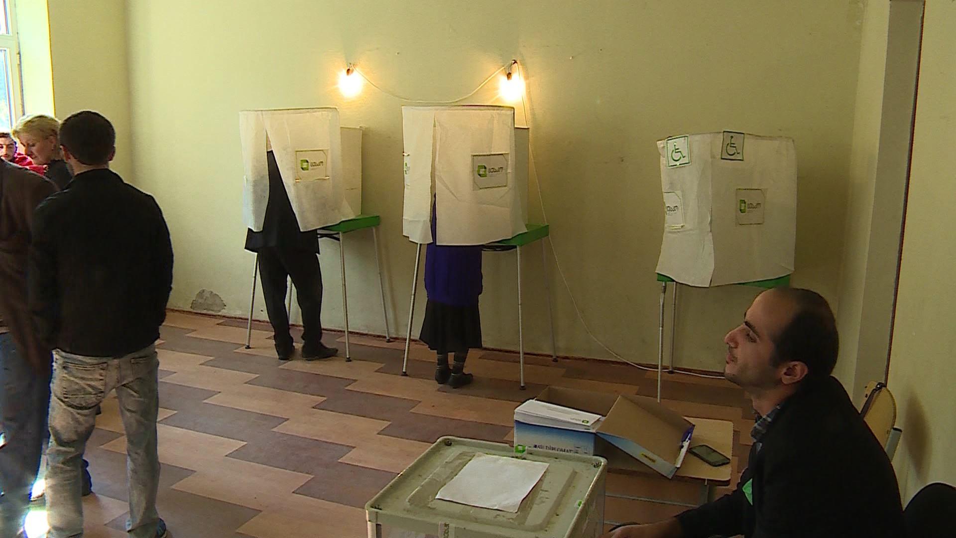 ქედაში -  10:00 მხოლოდ 1337 ამომრჩეველი მივიდა