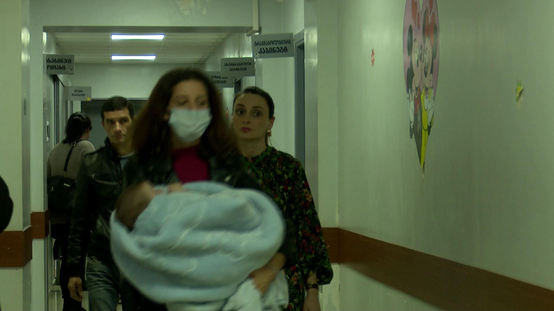 სეზონური ვირუსების გამო ბავშვთა საავადმყოფოში მიმართვიანობა გაიზარდა