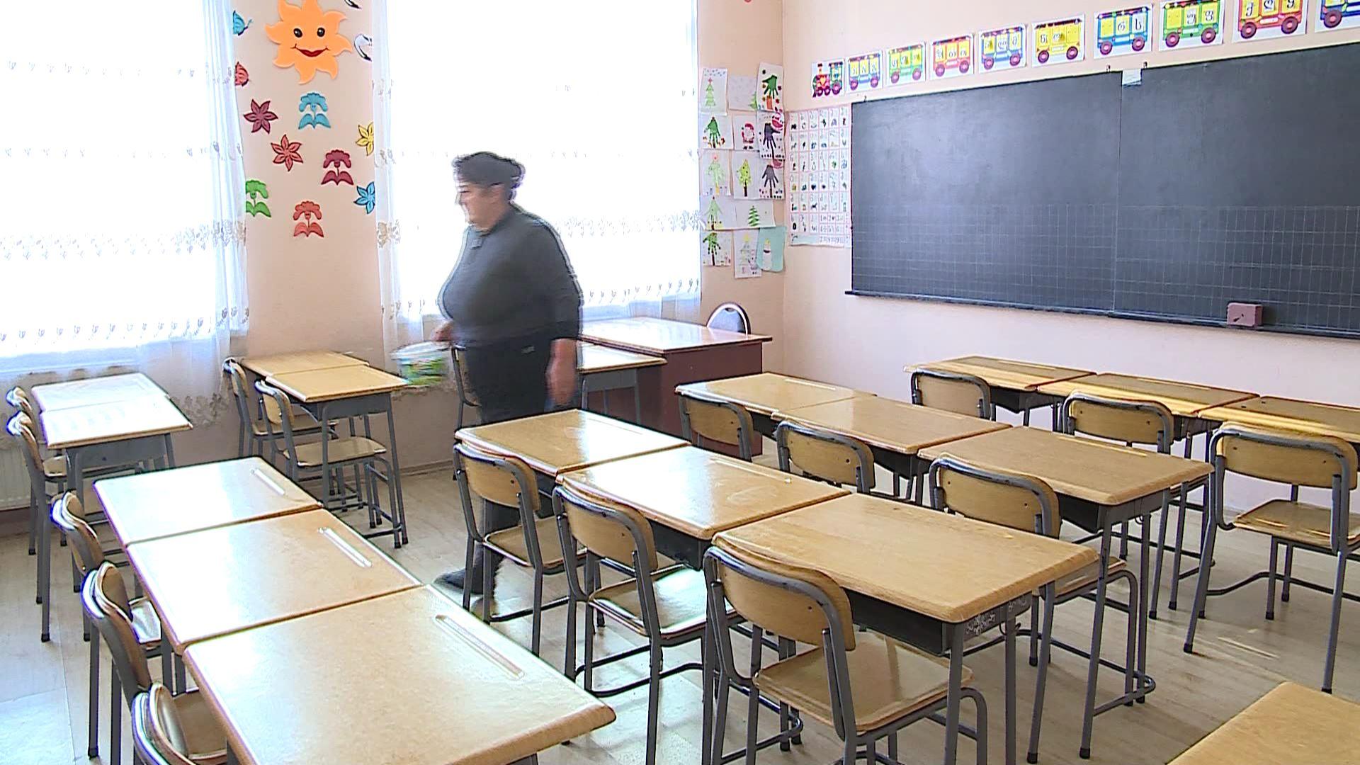 გრიპის ვირუსის გამო საჯარო სკოლებში სადეზინფექციო სამუშაოები დაიწყო