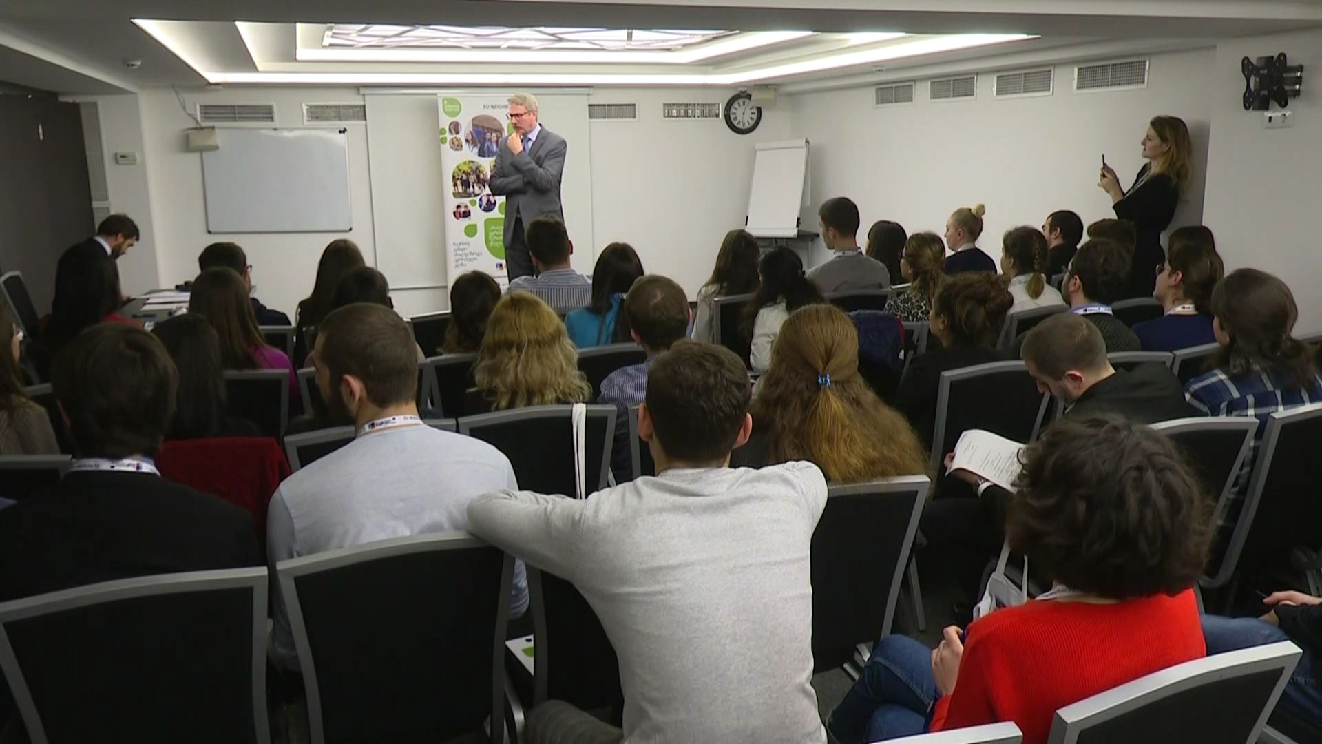 68 Georgians were selected for the third stream of ''Young European Ambassadors'' initiative