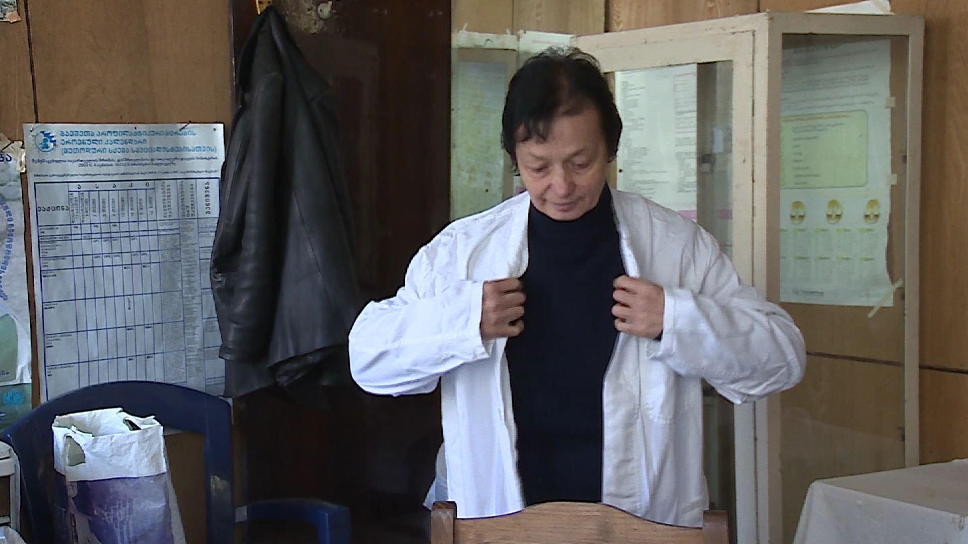 უანგარო მკურნალი - ექიმი ლეილა ცინცაძე 8 სოფლის მოსახლეობას ემსახურება