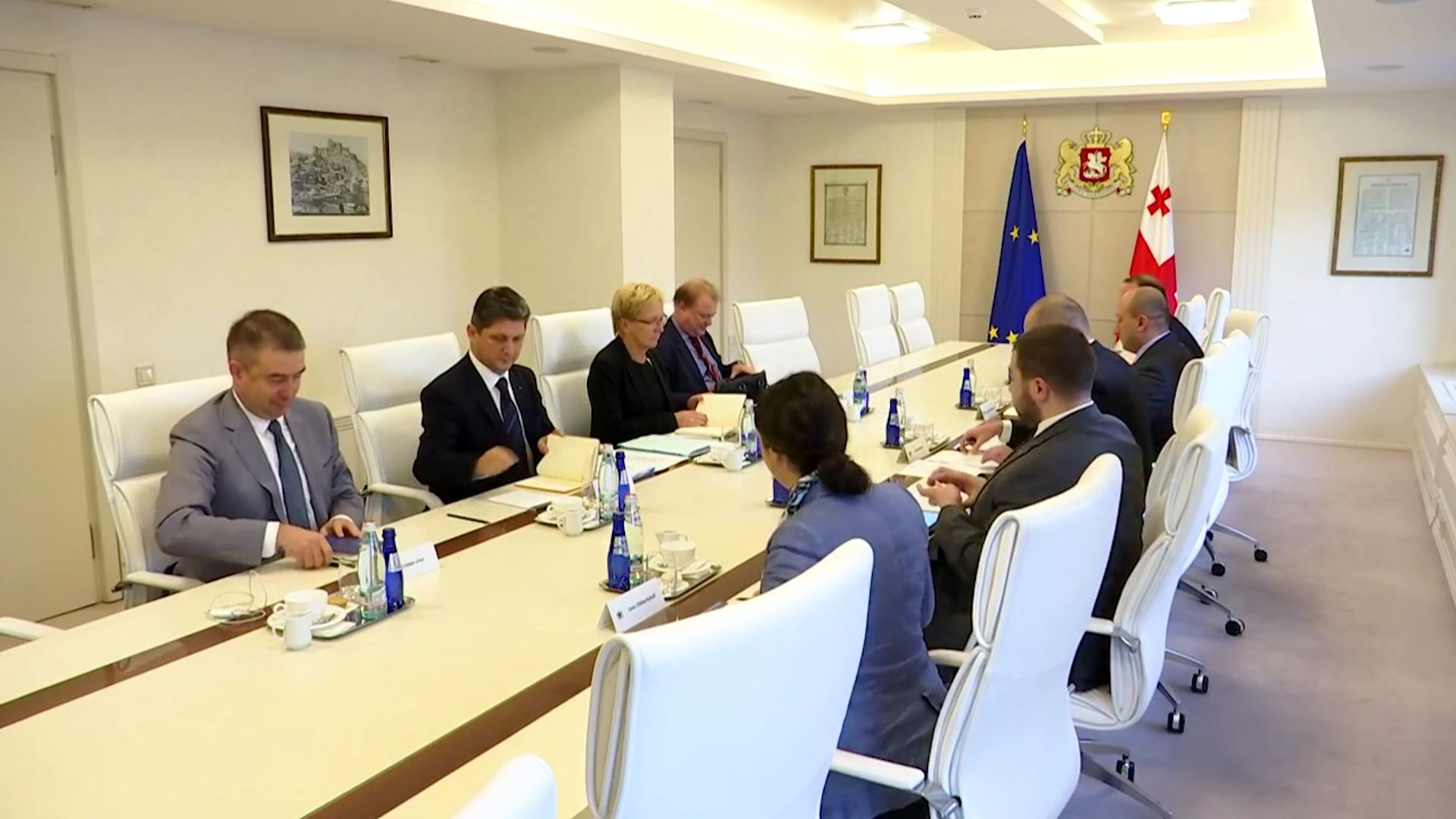 Visit of members of the Monitoring Committee of the Council of Europe Parliamentary Assembly