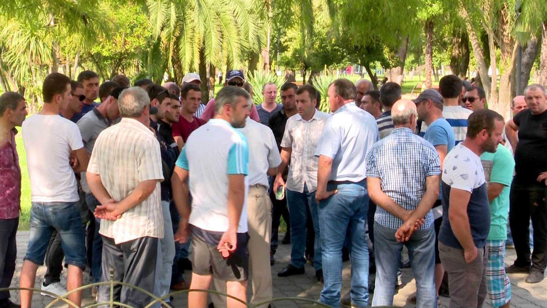 Negotiations between workers and employers were held