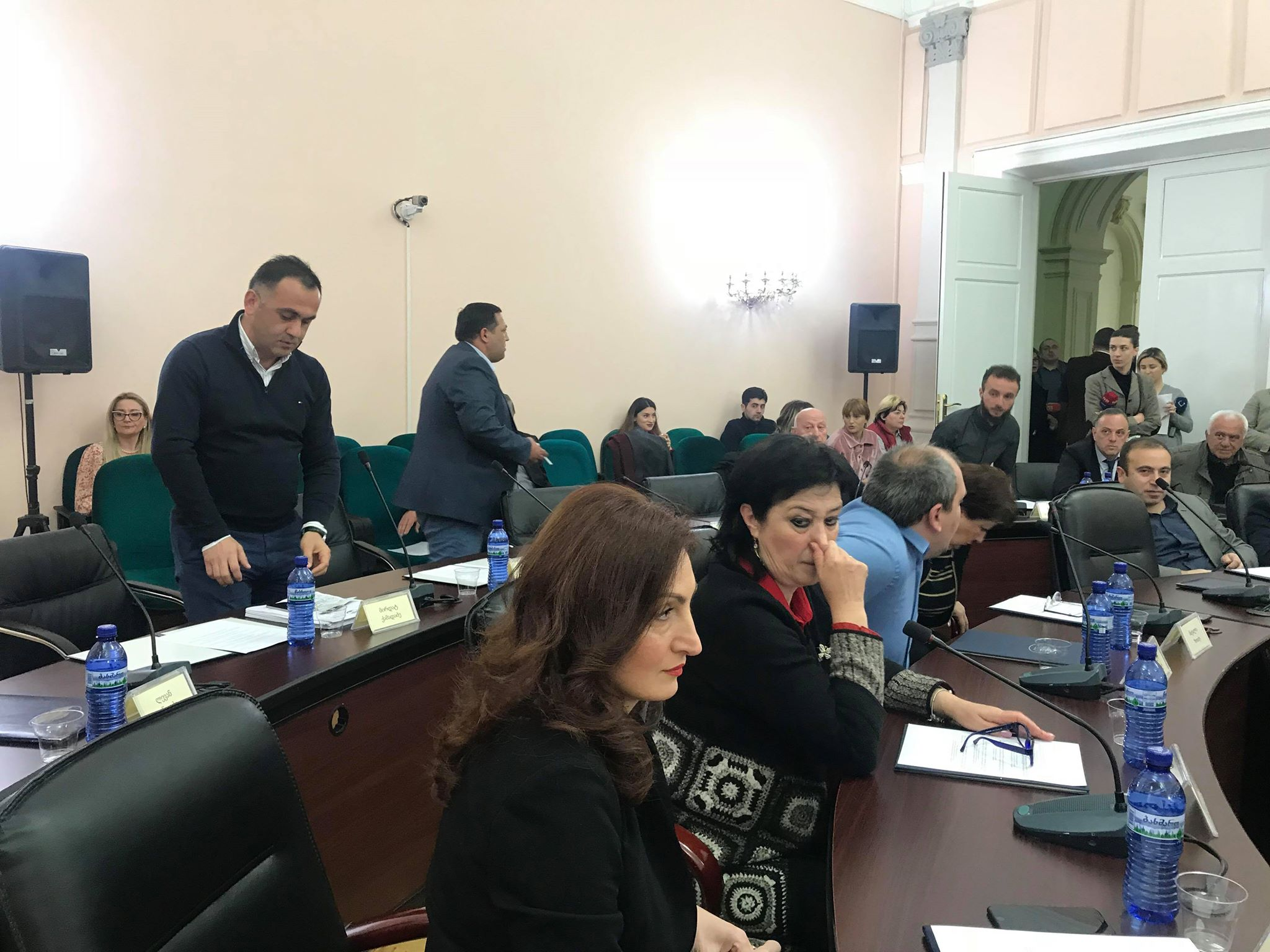 Part of Opposition will not attend the Report 2017  discussion- Georgian Dream Refused to Invite Mayor