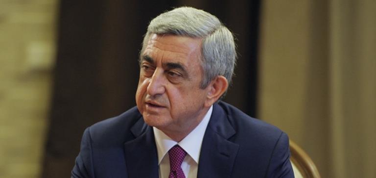 Armenian Prime Minister Serzh Sargsyan has resigned