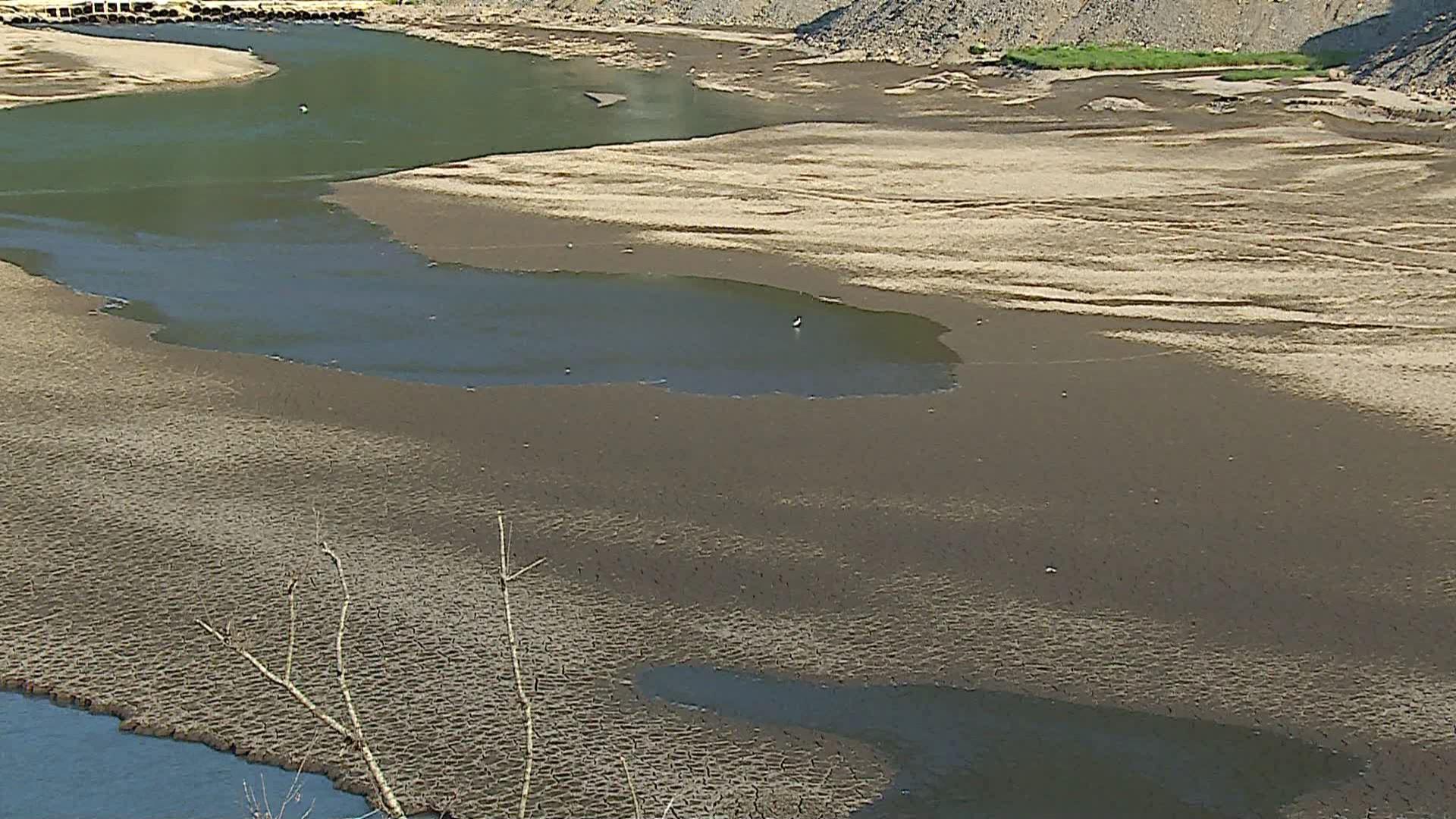 მდინარე აჭარისწყალში წყლის დონე შემცირებულია