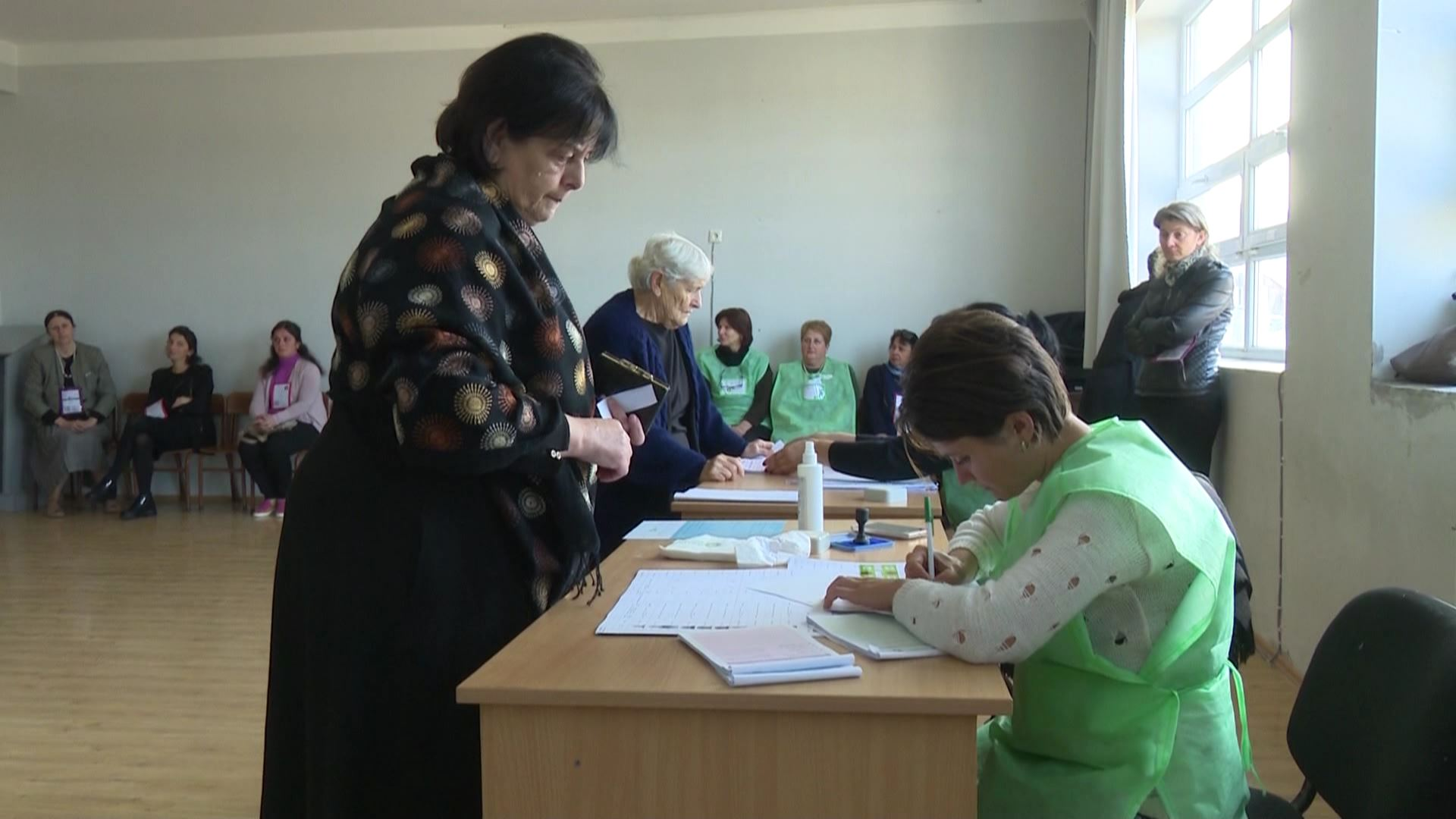 Elections in Kobuleti are in a calm environment