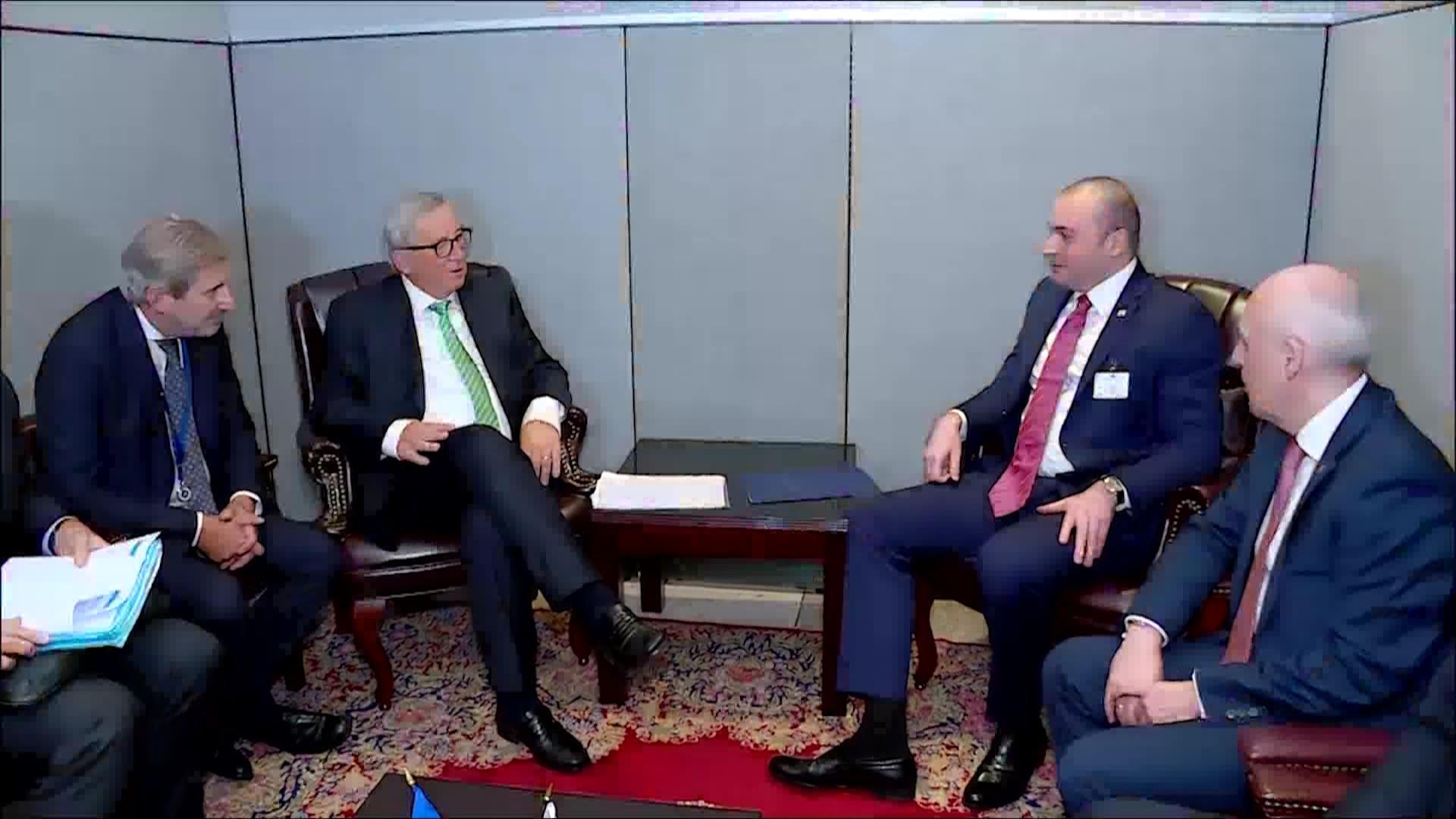 ევროკომისია საქართველოში ვიზალიბერალიზაციის პროცესს პოზიტიურად აფასებს