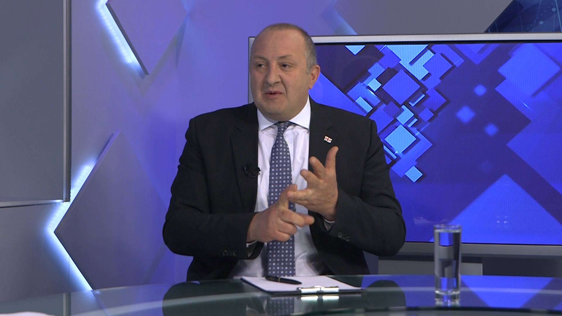 ''It is a disaster when Russia is against you and you cancel the Security Council''  - the President of Georgia