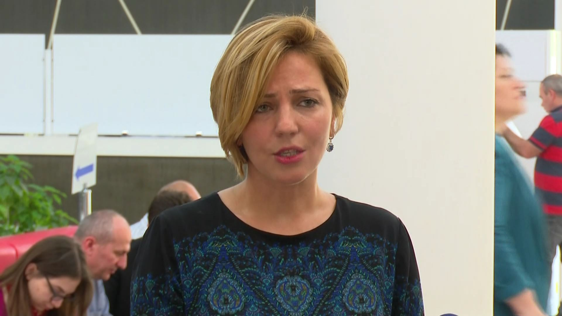 Ana Dolidze sues the chairperson of the court of appeal