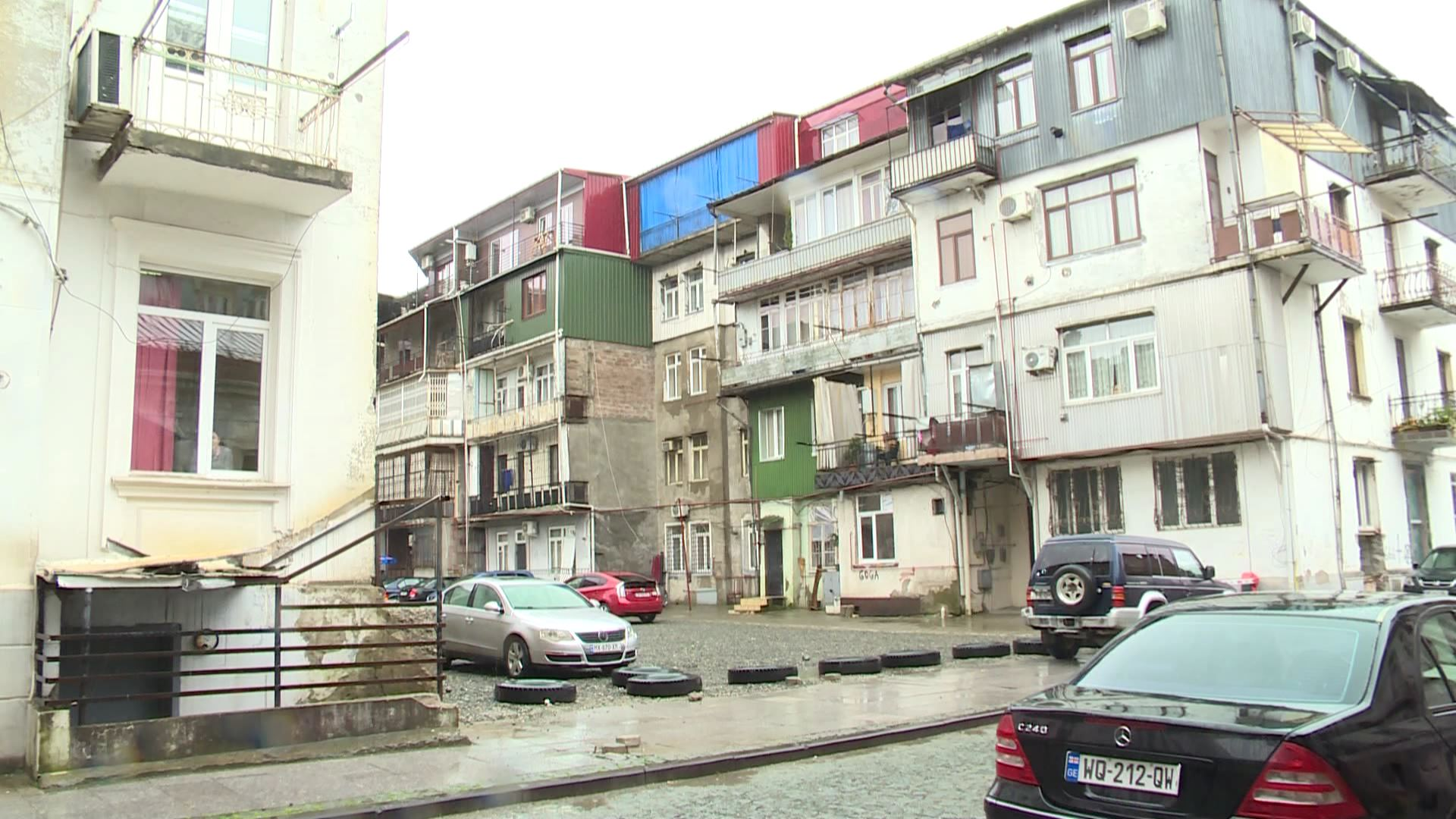 The auction for construction of the building on Akhvlediani Street was not held