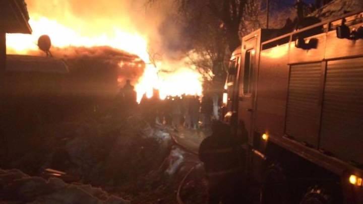 საციხურში საცხოვრებელ სახლს  ცეცხლი გაუჩნდა