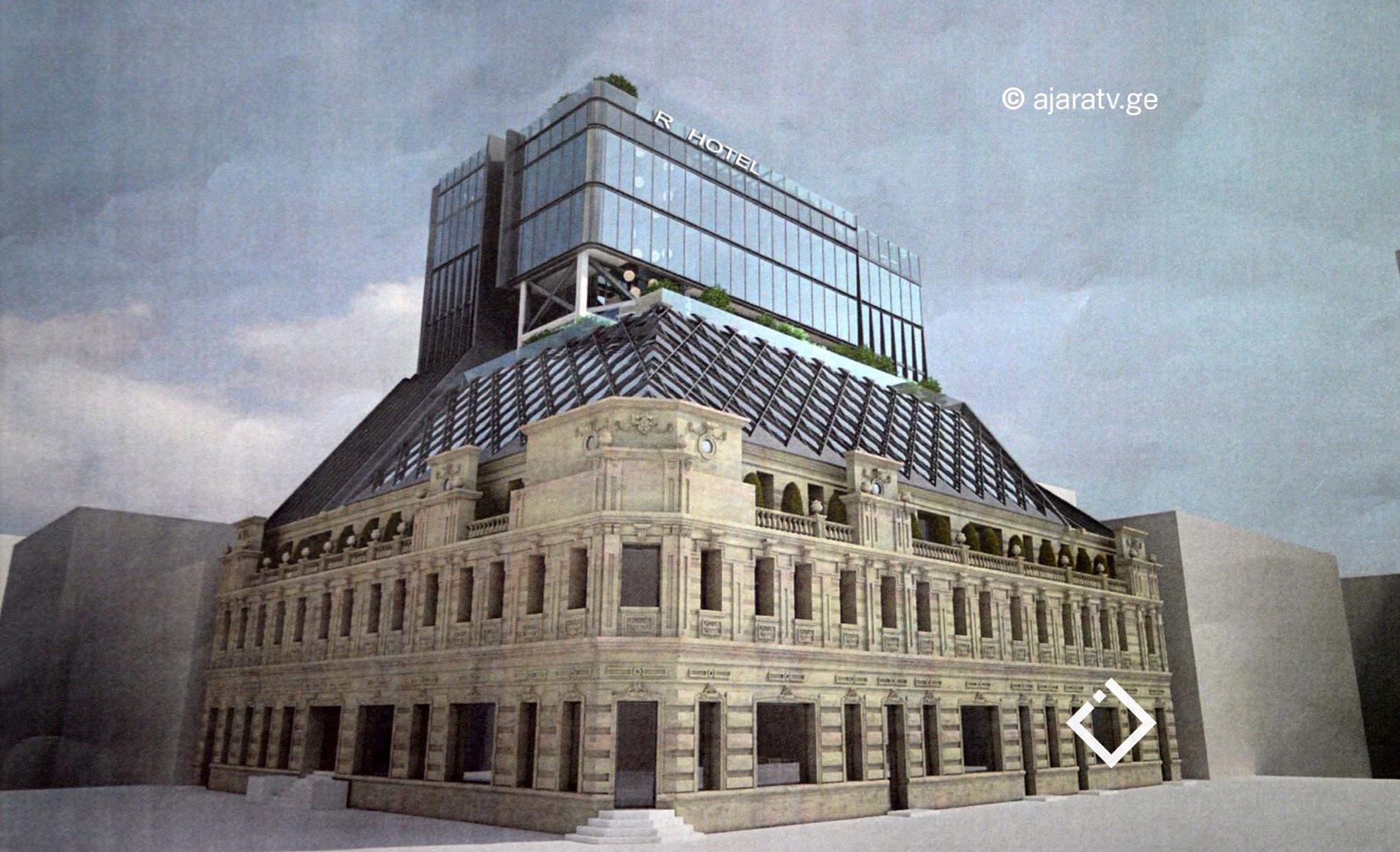 ინვესტორი - ''კომპანიის სურვილია, შენობას ქონდეს ისტორიული იერსახე და იყოს შეძლებისდაგვარად მაღალი