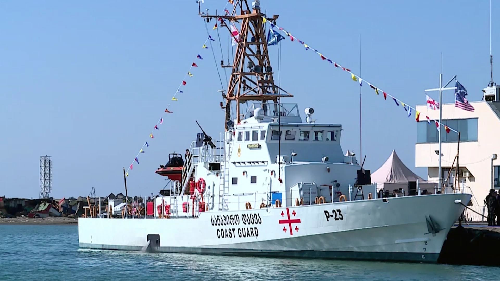 The US handed over to government of Georgia two coast guards of the
