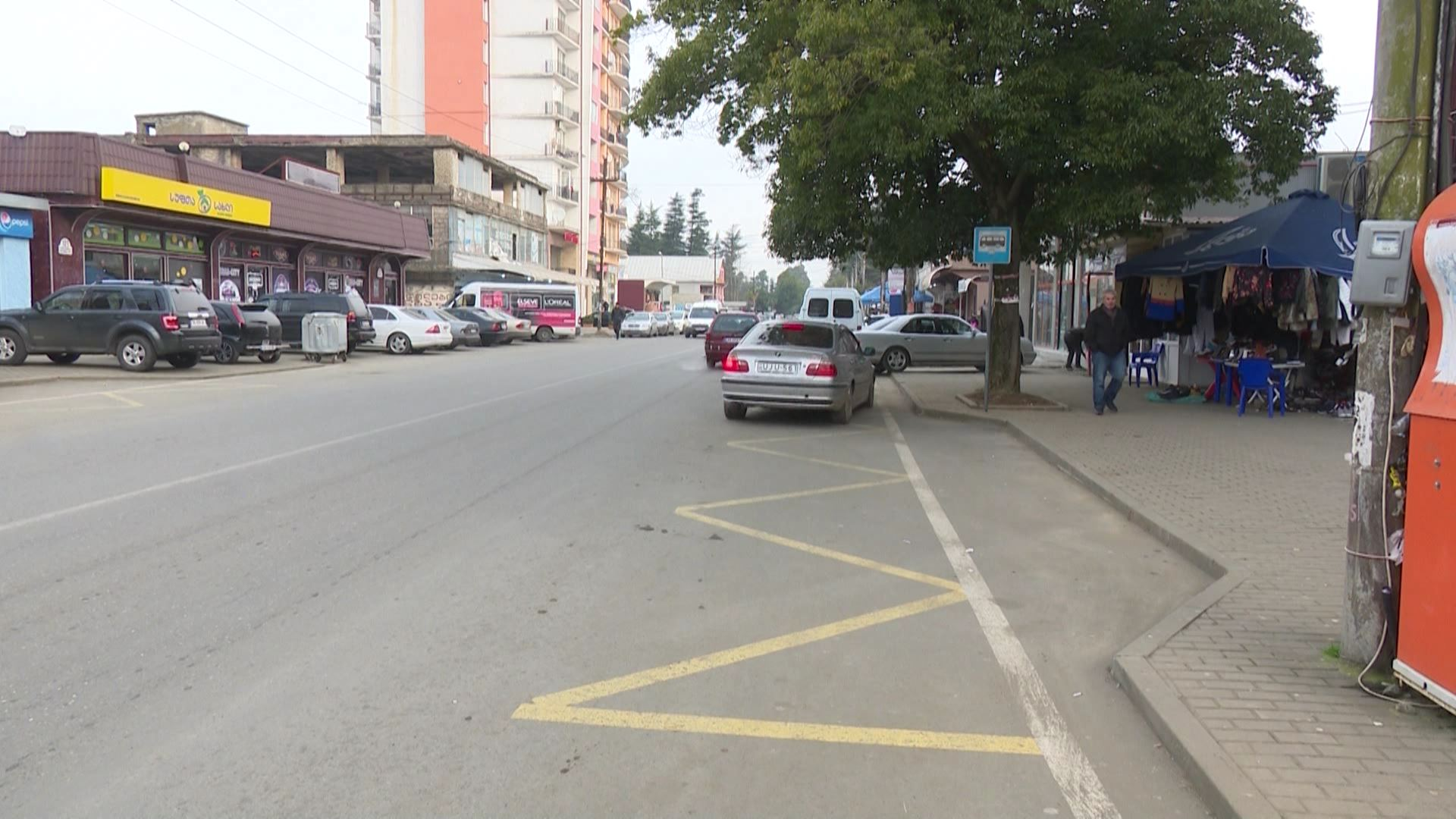 In Kobuleti, citizens are demanding placement of bus stop on Rustaveli Street
