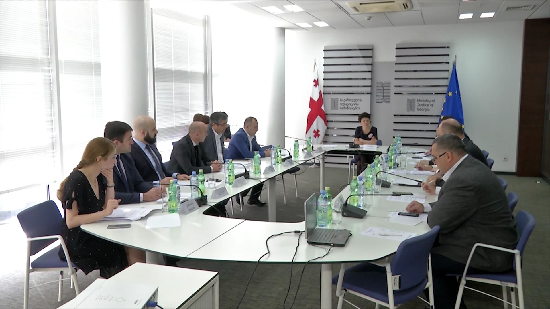 The next meeting of the Inter-Agency Commission was held at the Ministry of Justice