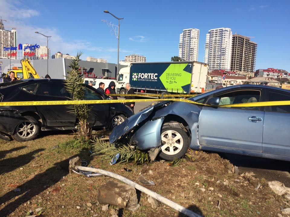 A road accident in Batumi