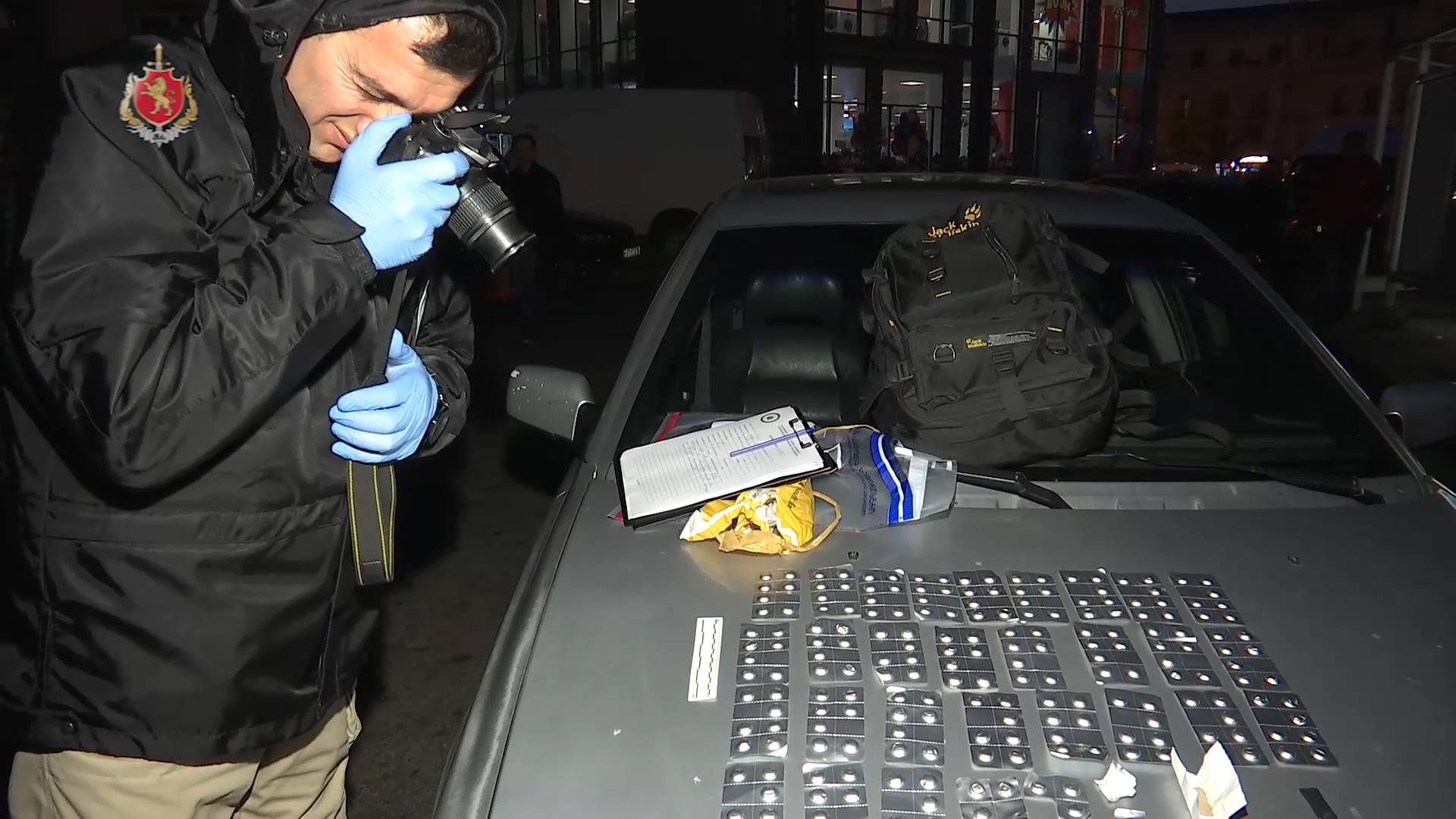 A large number of drugs were seized in Batumi