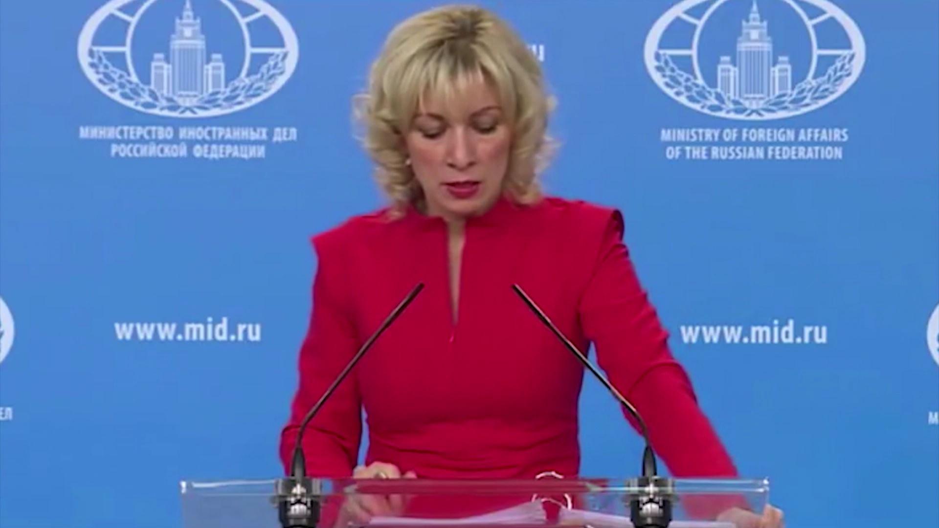მარია ზახაროვა: ''რუსეთსა და საქართველოს შორის ურთიერთობები თანდათანობით უმჯობესდება''