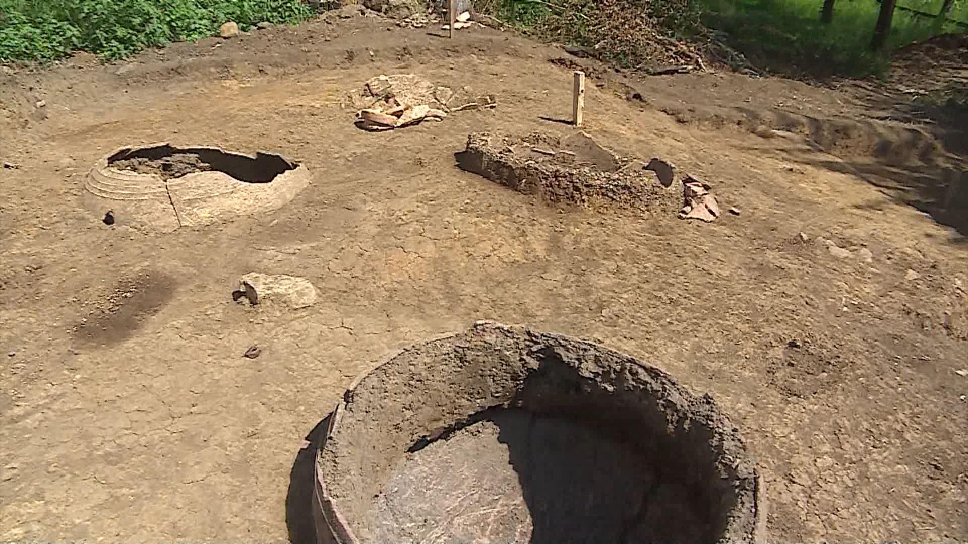 ქედაში ძველი მარანი აღმოაჩინეს