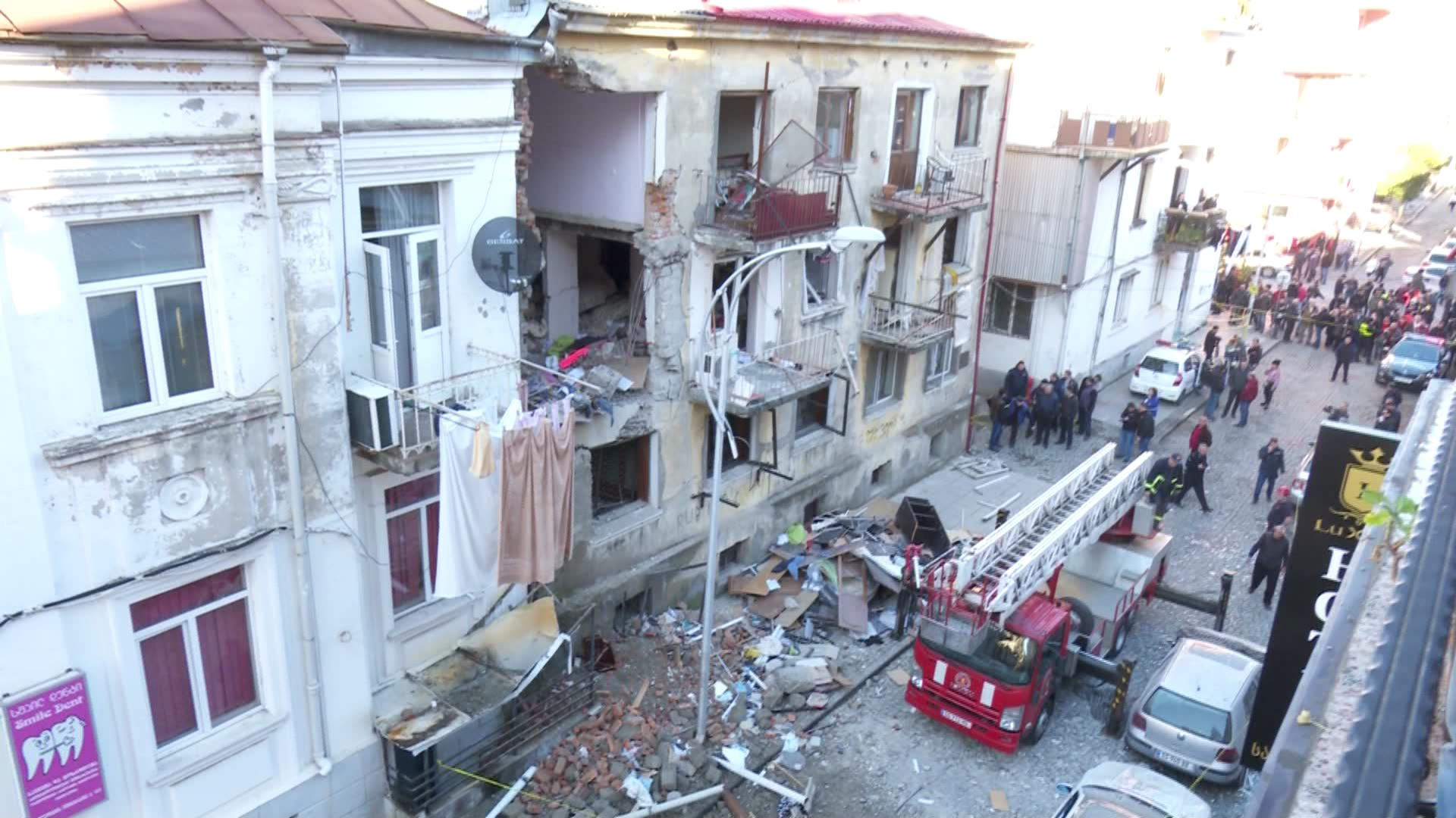 The damaged house will be dismantled - the expertise bureau