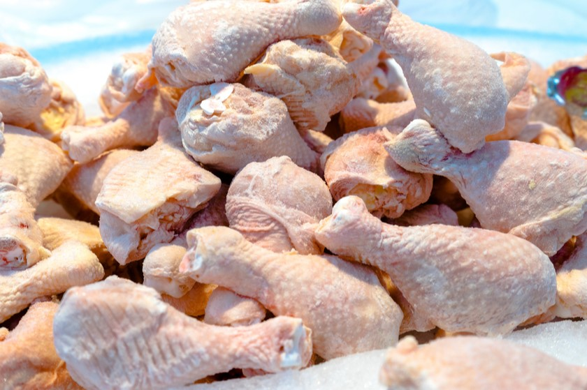 Which companies were restricted to import chicken meat from Turkey