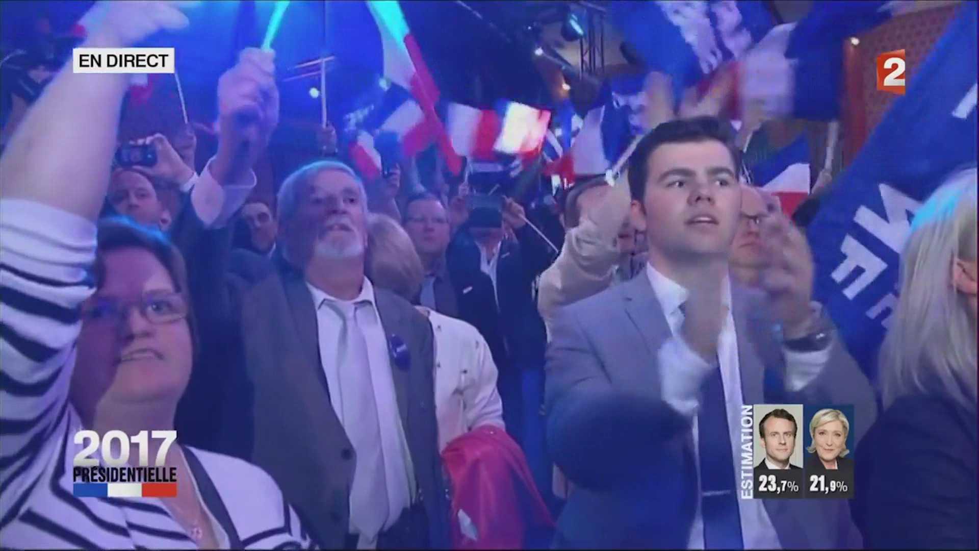 საფრანგეთის არჩევნების პირველი ტურის შედეგები