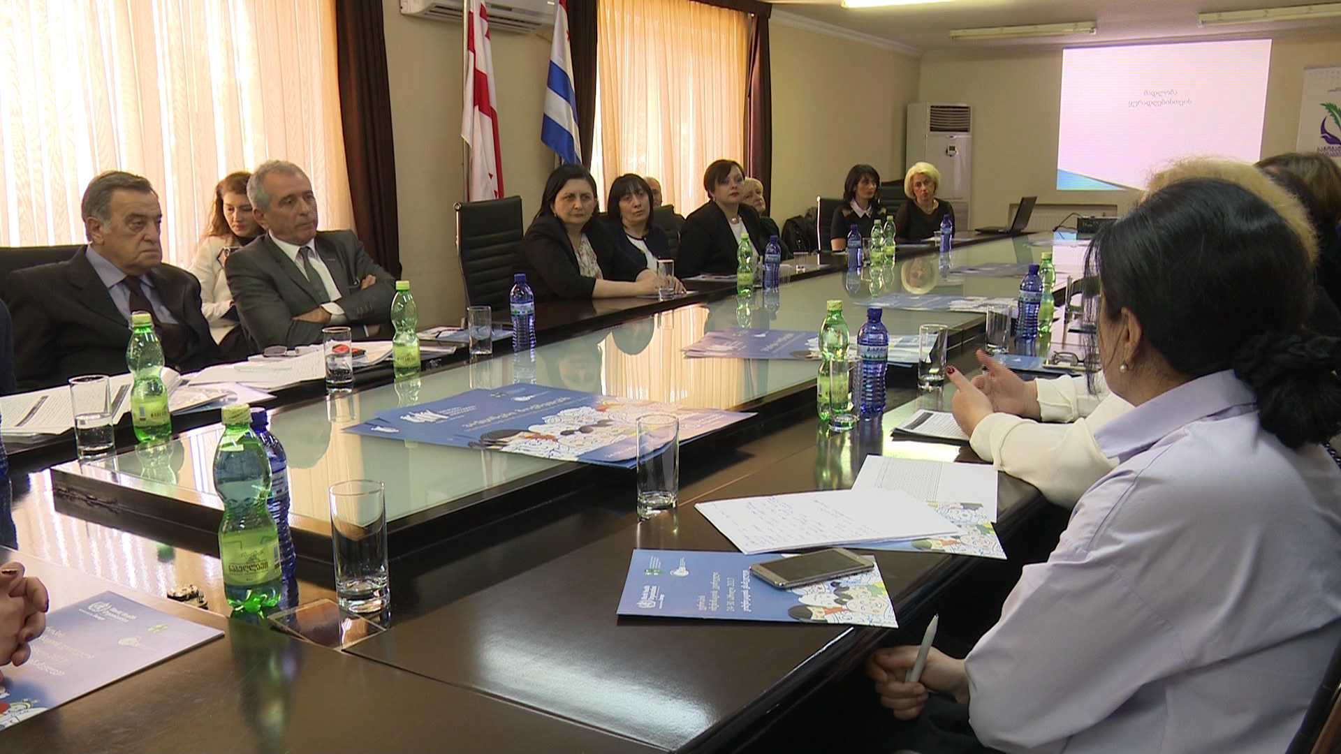 Meeting at the Ministry of Health