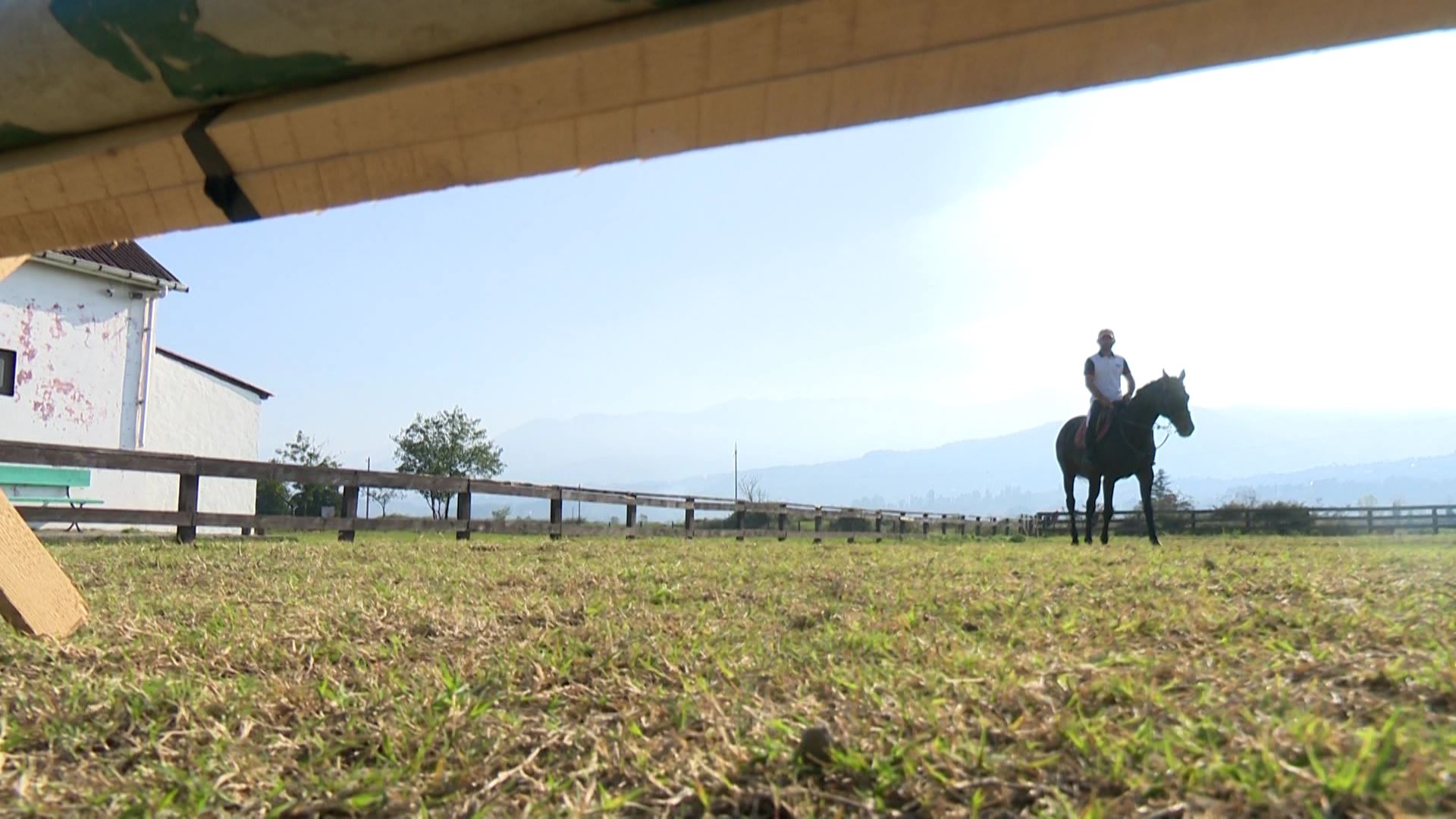 Horse riding - sports type, which experiences caused  certain infrastructure problems in the region