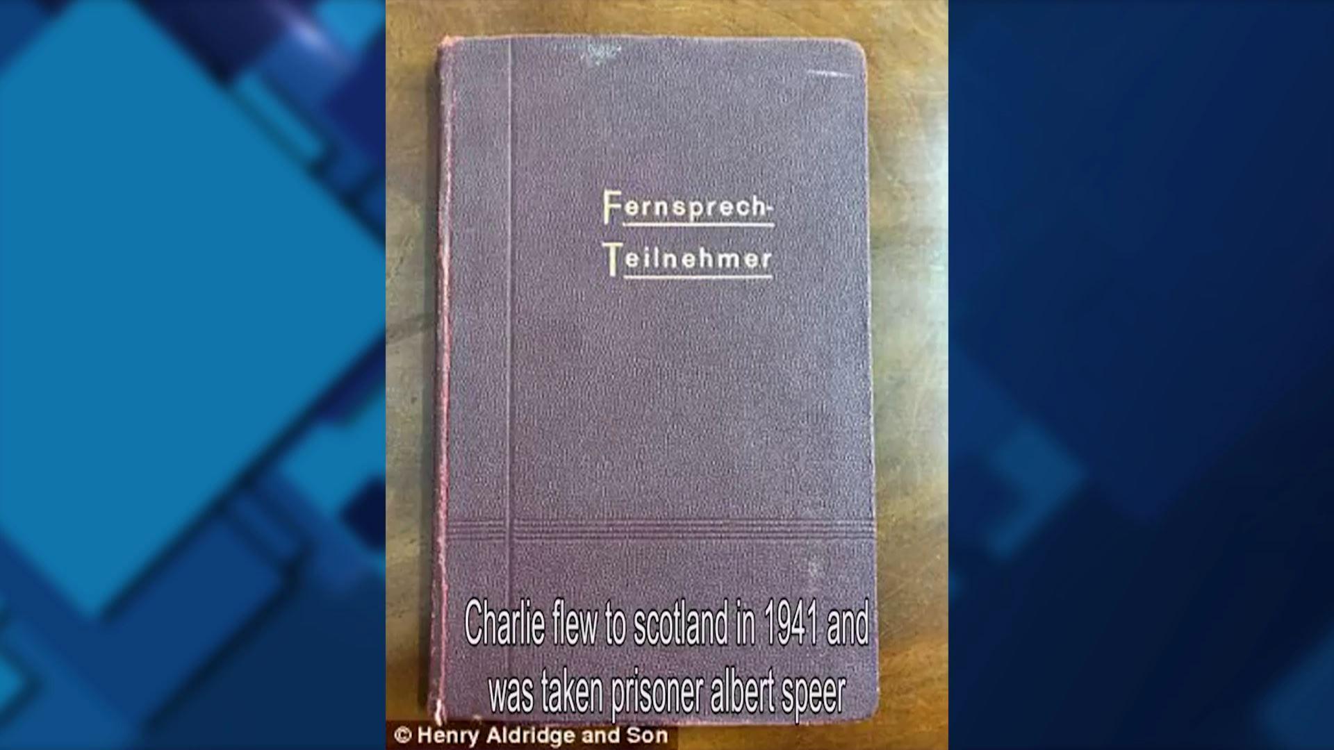 ჰიტლერის წიგნაკი აუქციონზე გაიყიდა