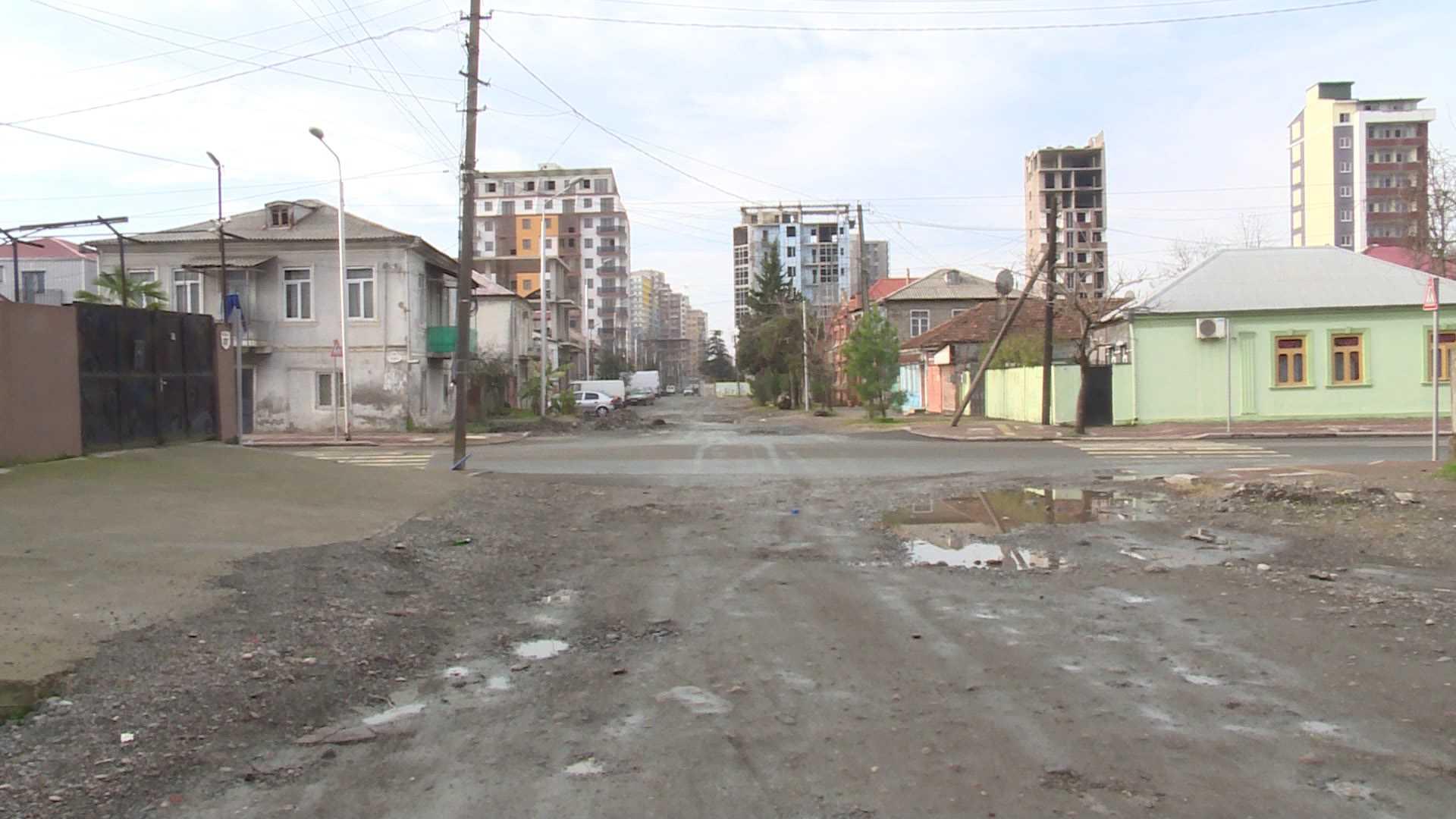 ათეული წლები მოპირკეთებული ქუჩის მოლოდინში -  ჭაობის რეაბილიტაცია