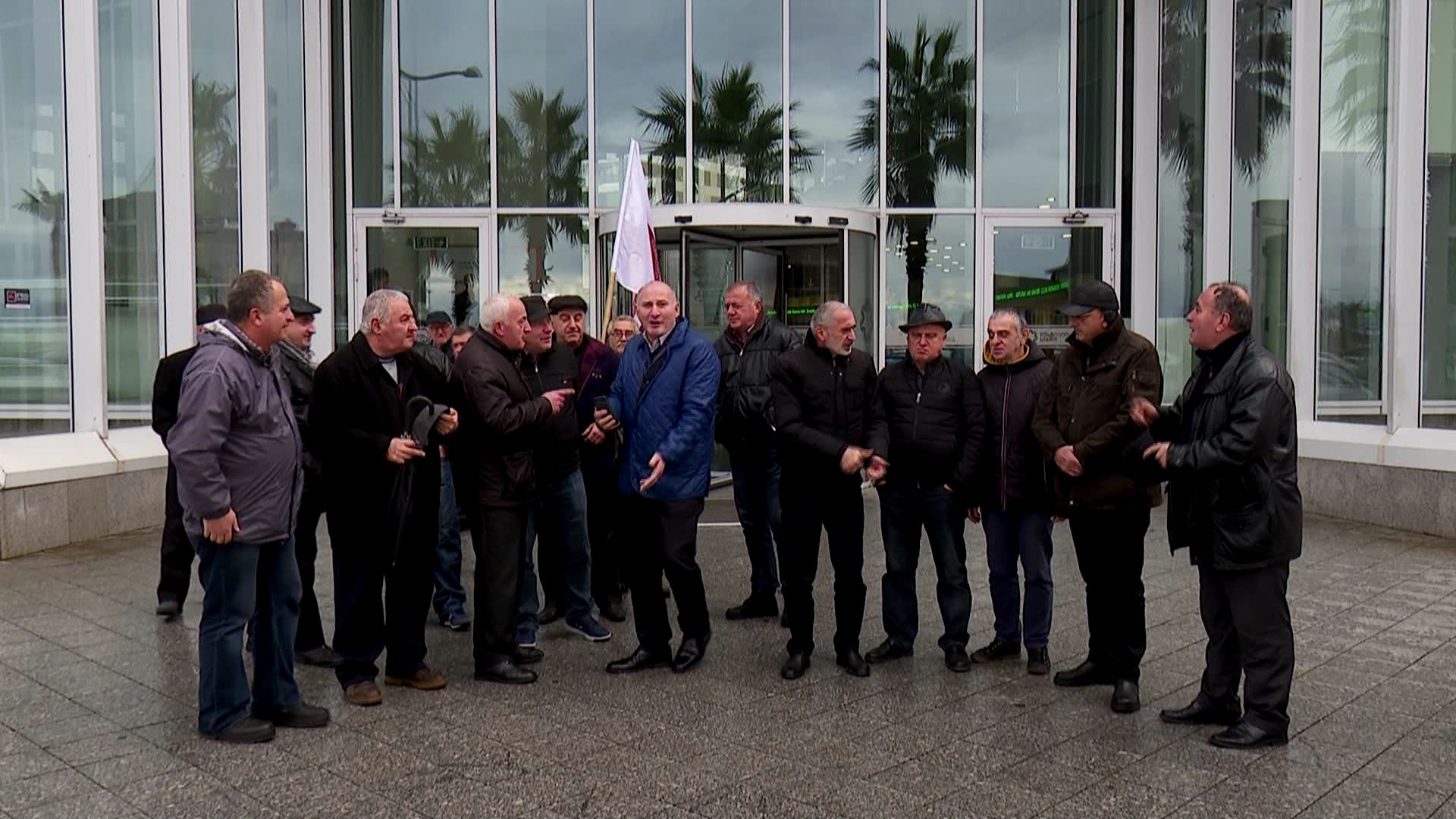 Protest action at Batumi House of Justice