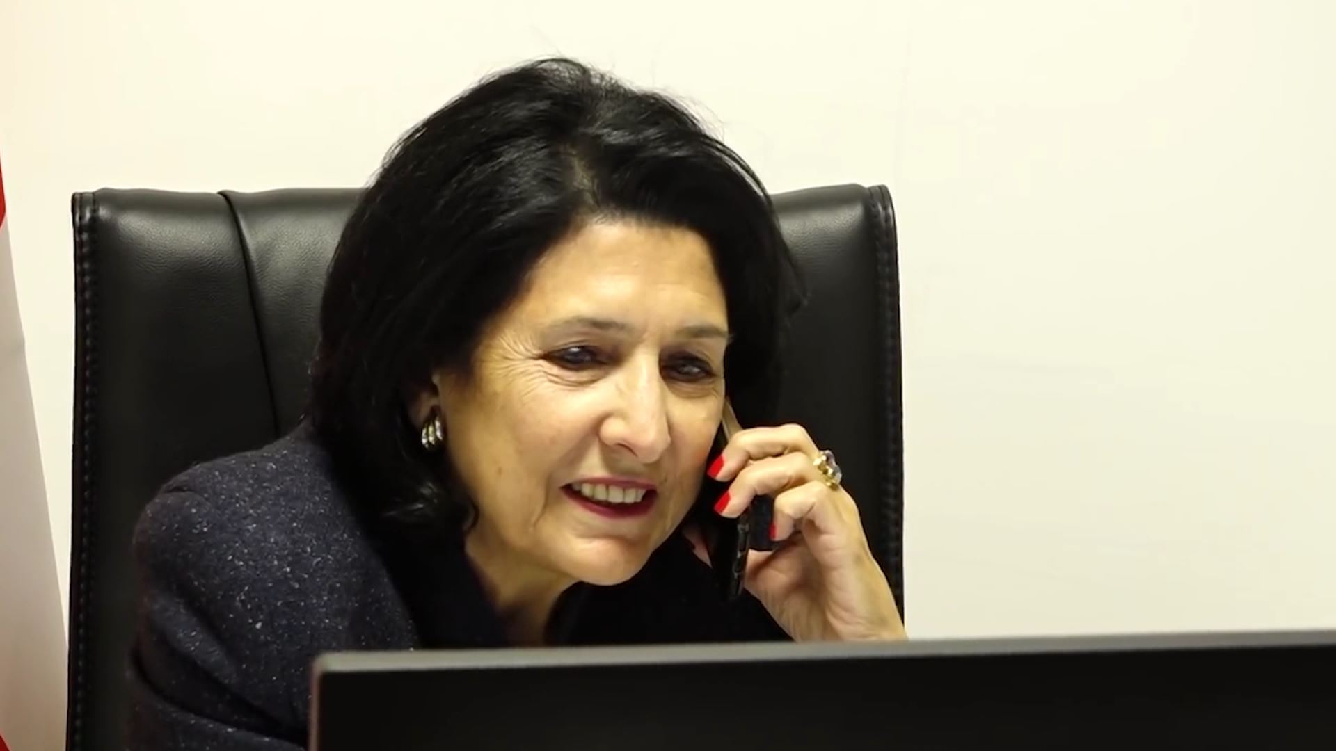 Telephone conversation between Salome Zurabishvili and US Secretary of State