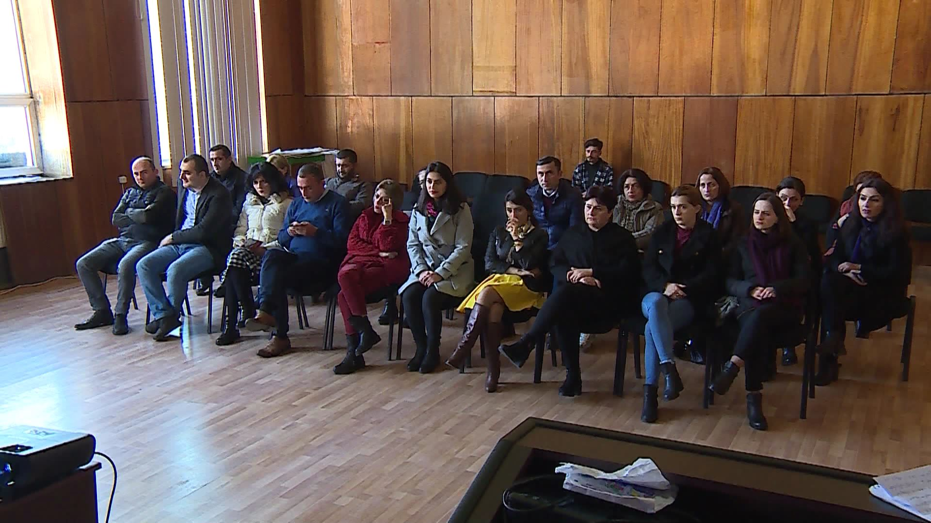 ''No to Violence'' - Training in Keda