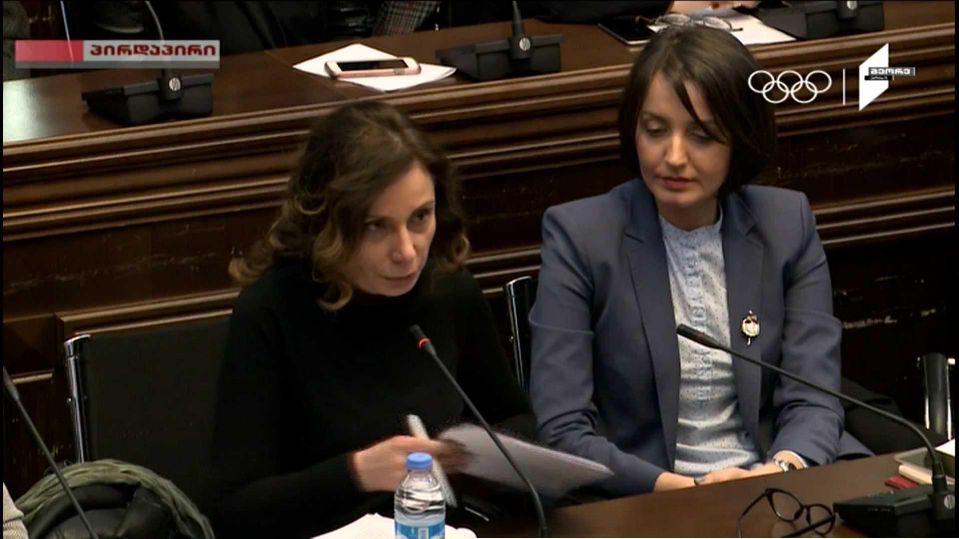 Noise at the meeting of Irakli Kobakhidze and media organization representatives