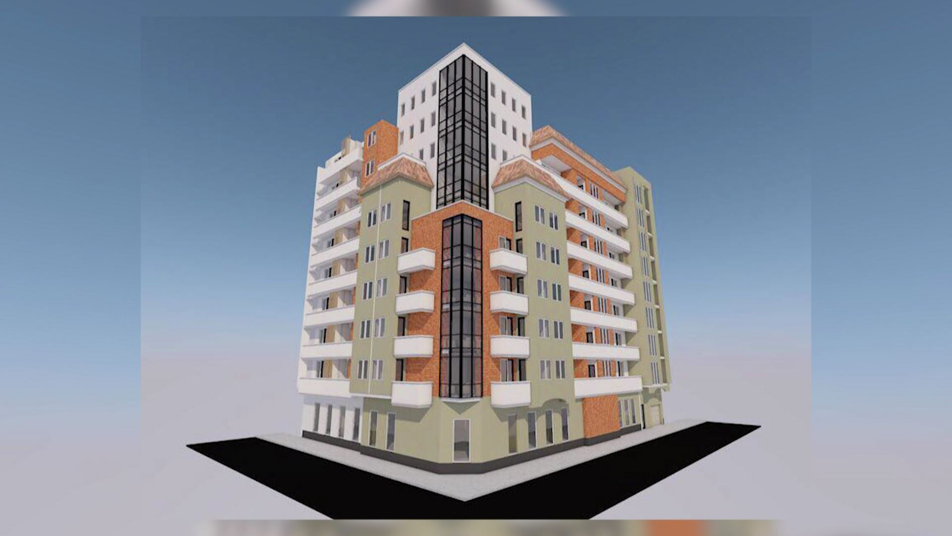 The Zonal Council will discuss the construction of the building in # 13 Vazha Pshavela Street