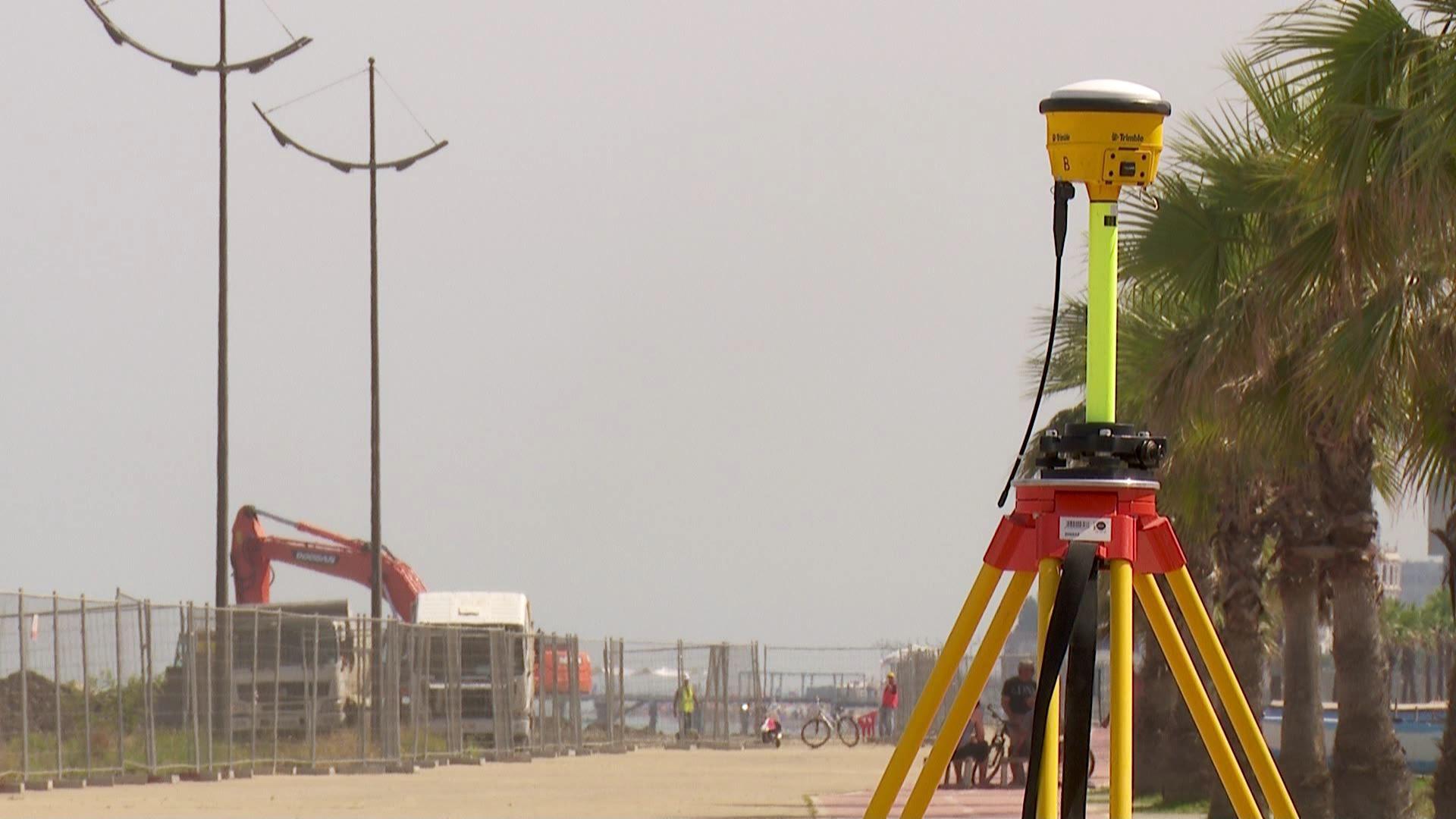 სამუშაოების გამო ჩაკეტილი ორკილომეტრიანი სანაპირო