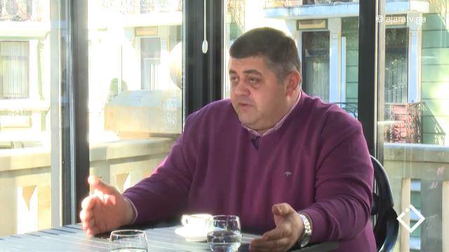 ირაკლი შარაბიძე / ბათუმის სახელმწიფო საზღვაო აკადემიის რექტორი