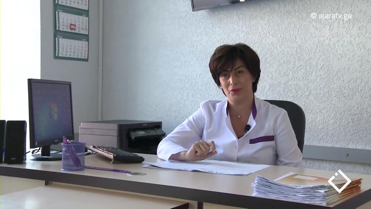 'ექიმის პორტრეტი' / ენდოკრინოლოგ-დიეტოლოგი ინგა აბესაძე