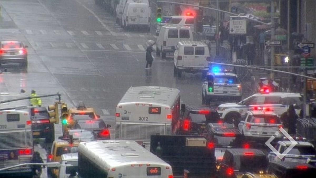 მანჰეტენზე ვერტმფრენი ჩამოვარდა - არის მსხვერპლი