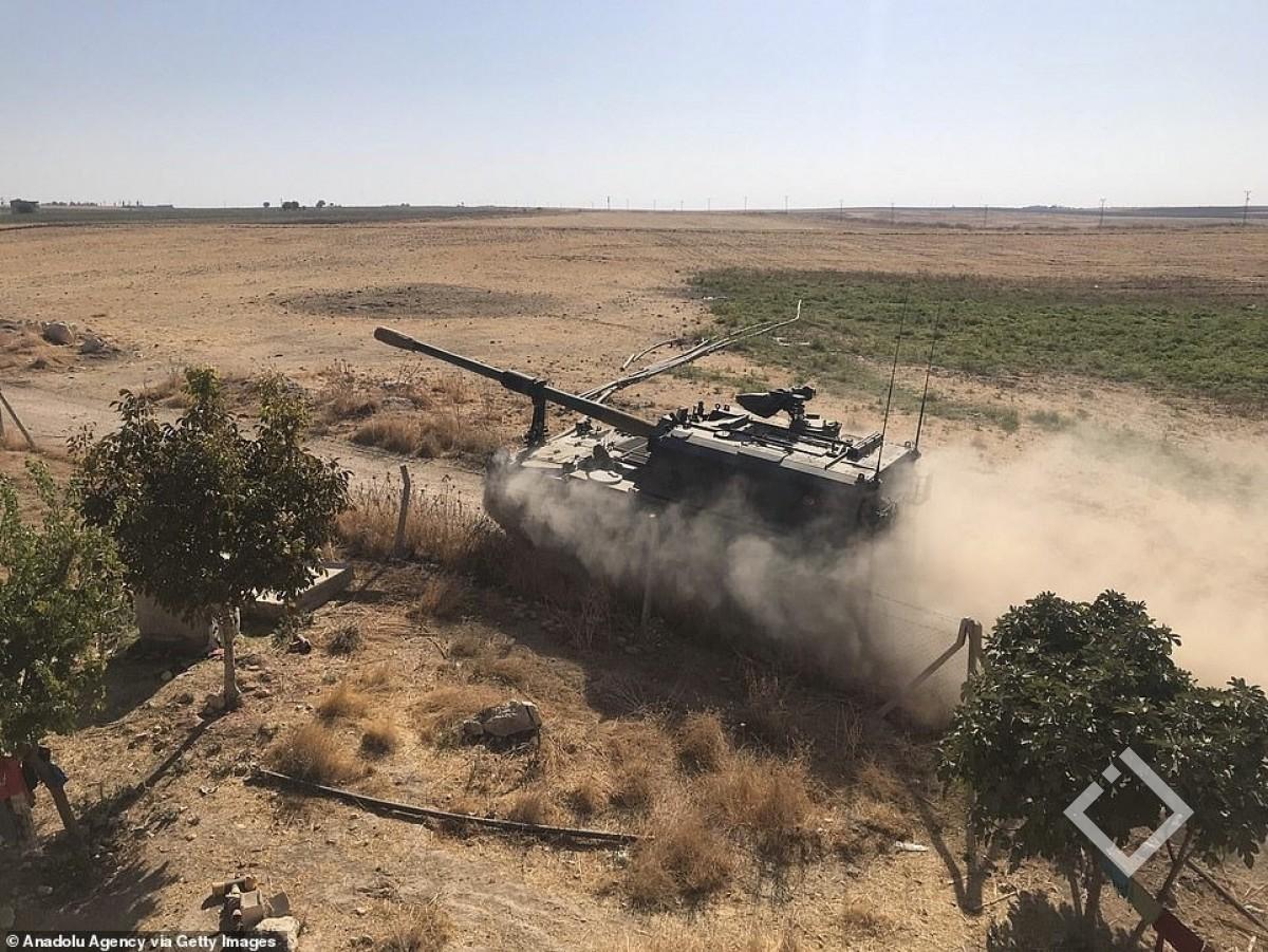 თურქეთის სამხედრო ავიაციამ 181ობიექტი დაბომბა
