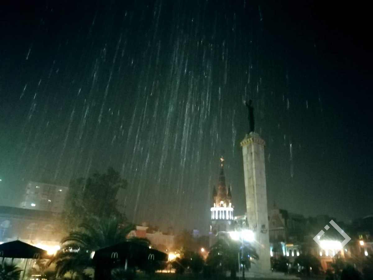 ამინდი, ბათუმი -აჭარაში ხვალიდან 3 ნოემბრამდე დროგამოშვებით იწვიმებს