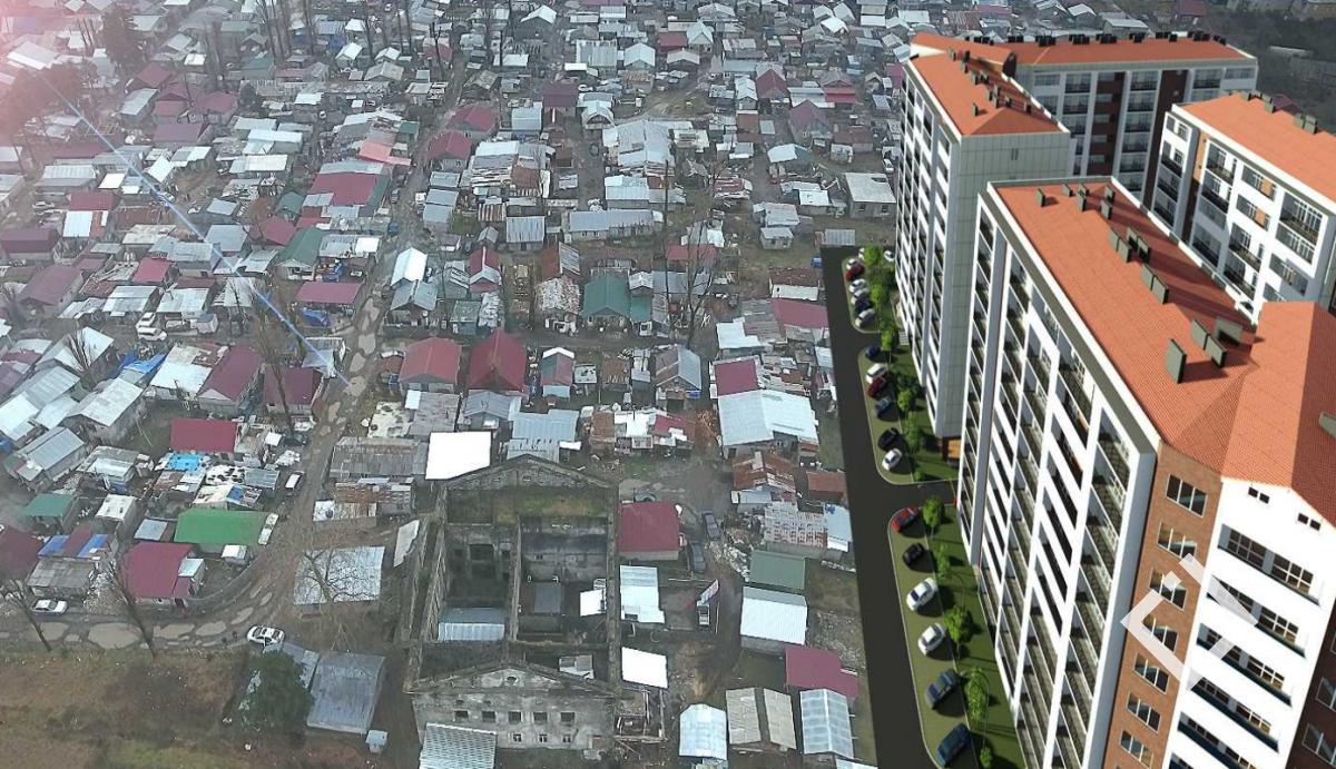 ე.წ. ოცნების ქალაქში კორპუსების აშენების სურვილი შპს ''დაგმა'' გამოთქვა