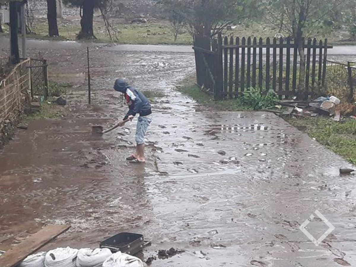 ძლიერი წვიმის გამო მახვილაურში  მეწყერი ჩამოწვა