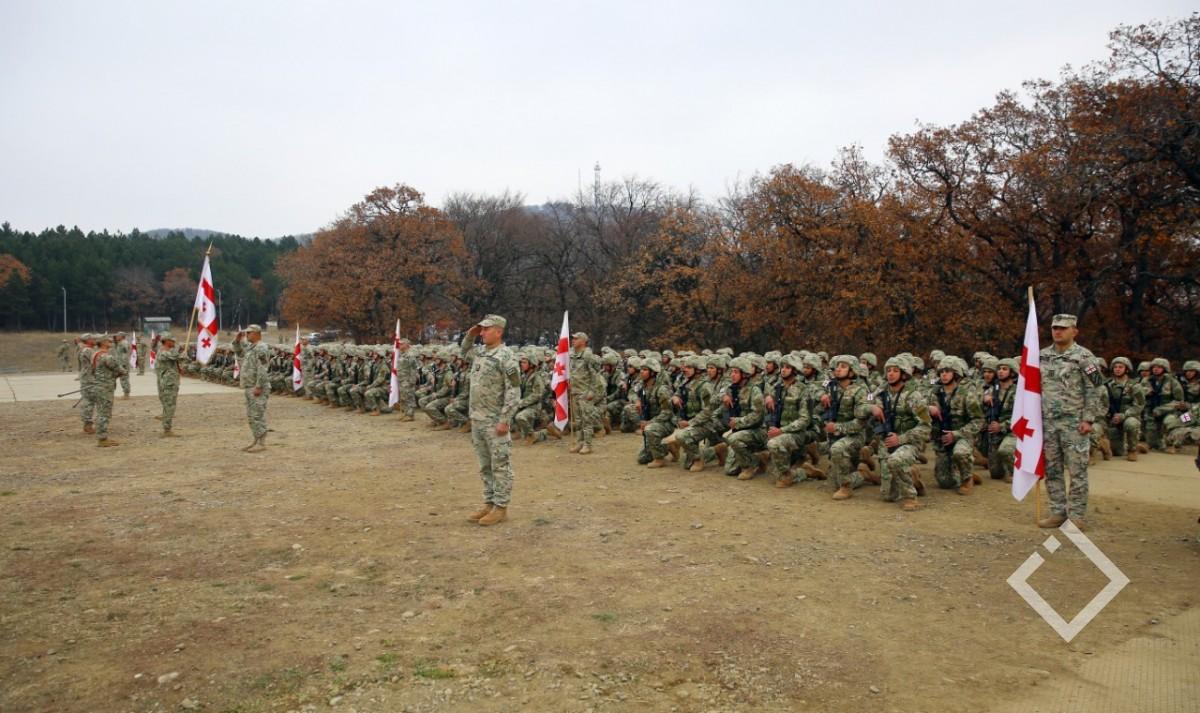 საქართველოს თავდაცვის ძალებს 377 სამხედრო მოსამსახურე შეემატა