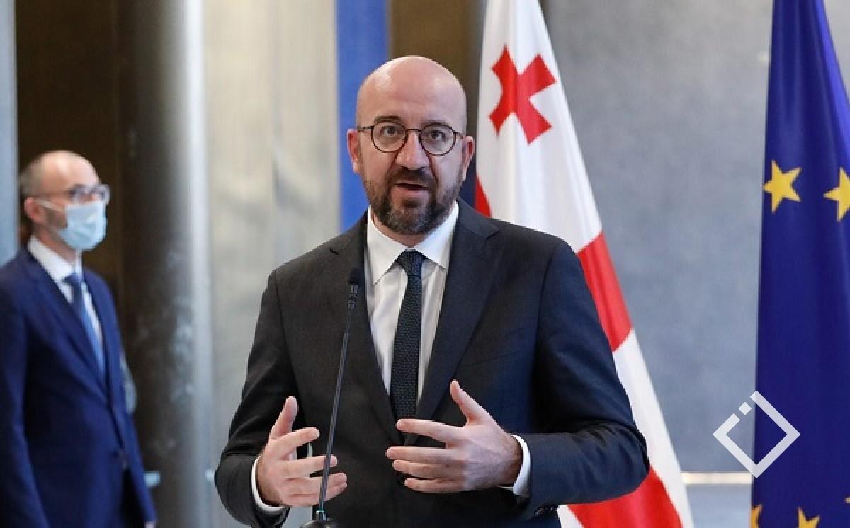 საქართველოში პოლიტიკურ აქტორებთან კონსულტაციები იწყება - შარლ მიშელიგანცხადებას ავრცელებს