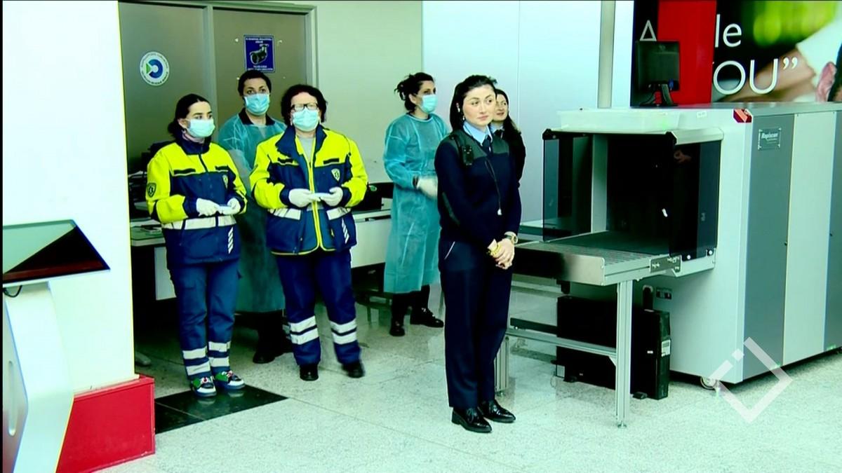 კორონავირუსთან დაკავშირებით მგზავრების ბათუმის აეროპორტშიც ამოწმებენ