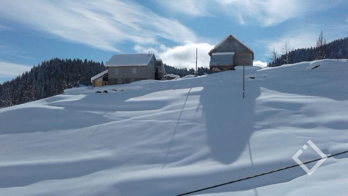 თოვლით დაფარული სოფლები მაღალმთიან აჭარაში  /ფოტოამბავი/